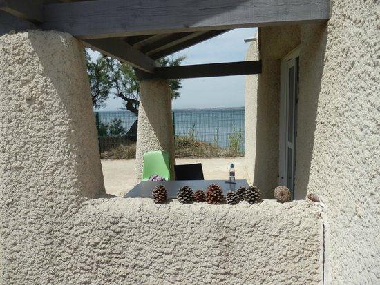 Belambra Clubs - Les Rives de Thau : Terrasse du bungalow