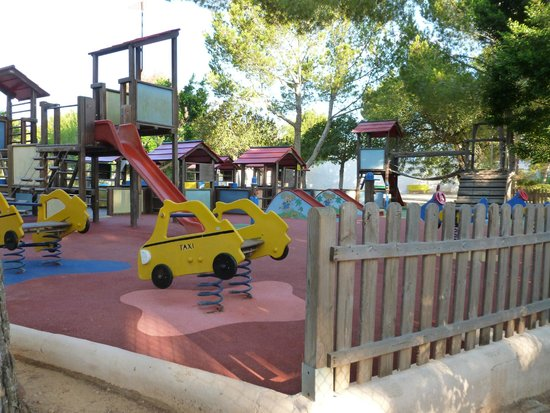 Invisa Hotel Club Cala Verde : Kids playpark