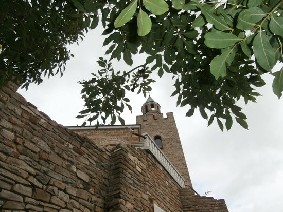 Tsarevets Fortress: The Church of St. Demetrius of Thessaloniki