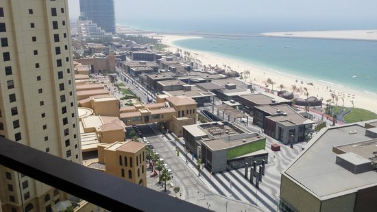 Hilton Dubai The Walk: 15th floor view