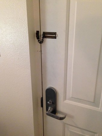 Budget Motel: Your secure front door.