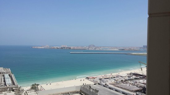 Hilton Dubai The Walk: 15th floor view