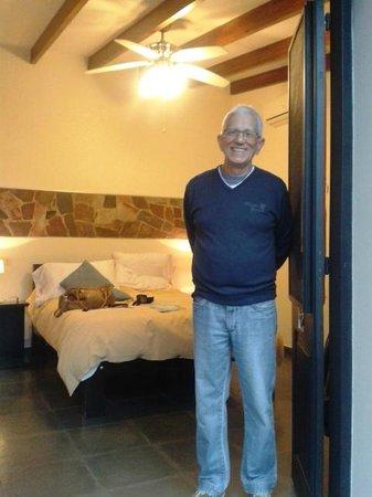 Posada El Capullo : Entrada do quarto