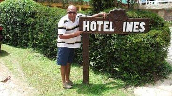 Hotel da Inês : Entrada do Hotel