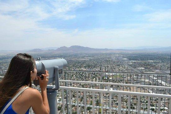 Stratosphere Hotel, Casino and Tower: Vista