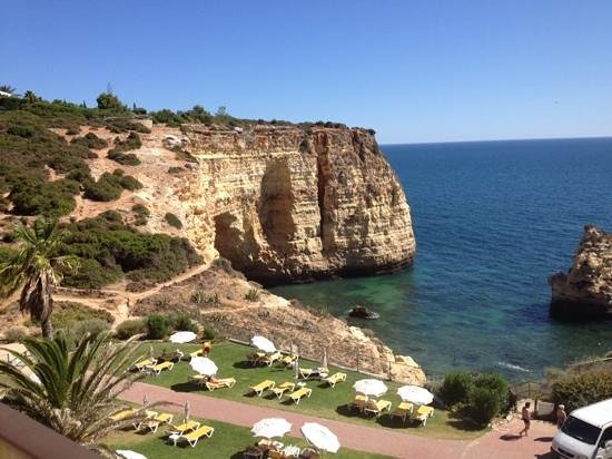 Tivoli Carvoeiro: view from our 4th floor balcony