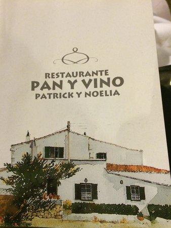 Pan y Vino : Carta