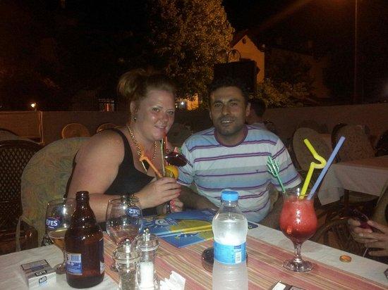 Club Ako Apartments: Mehmet and me at club ako!