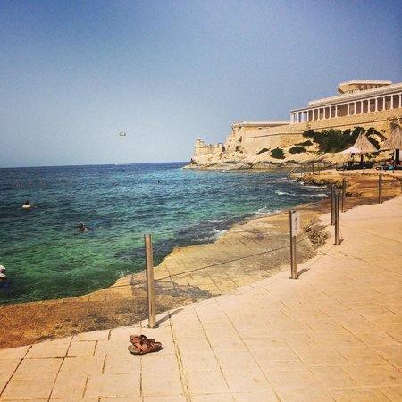 The Westin Dragonara Resort, Malta : Wonderful overlooking the sea and the casino