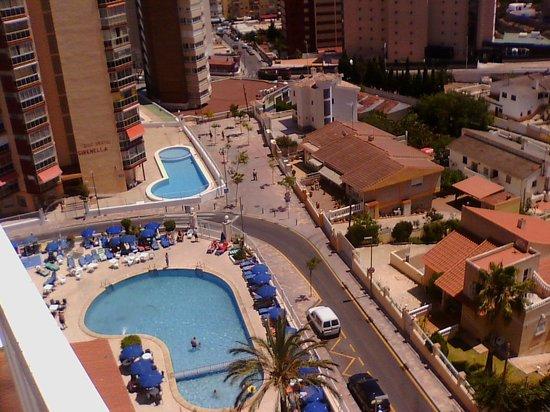Cabana Hotel: vistas tambien a la piscina