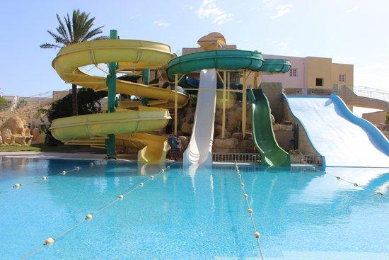 Houda Golf and Beach Club: zjeżdżalnie, raj dla dzieci