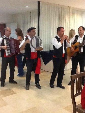 Fiesta Hotel Athènee Palace: Animation le jour de la fête sicilienne