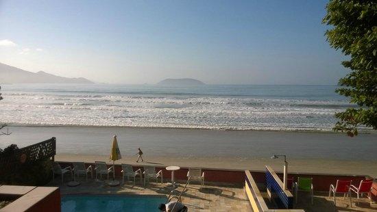 Pousada Casa na Praia: vista do quarto frontal do primeiro andar