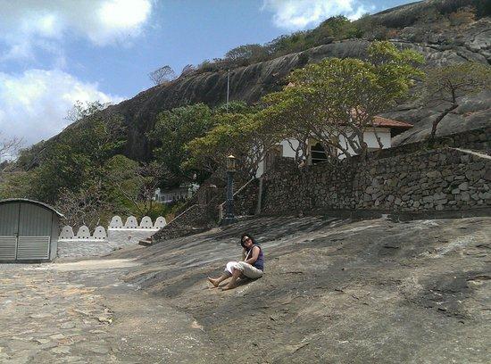 Höhlentempel von Dambulla: Dambulla Cave temple Srilanka