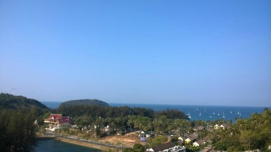 Sunsuri Phuket : A view from the sea view suite
