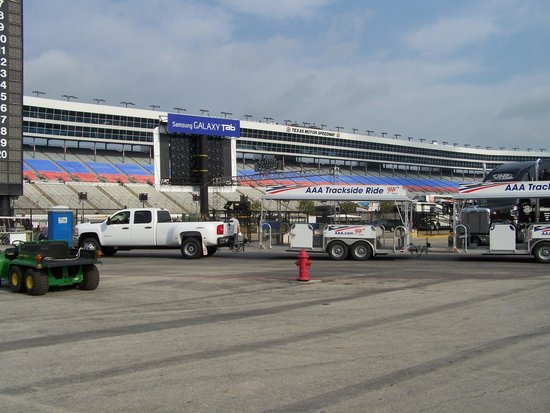 Texas Motor Speedway: From the infield