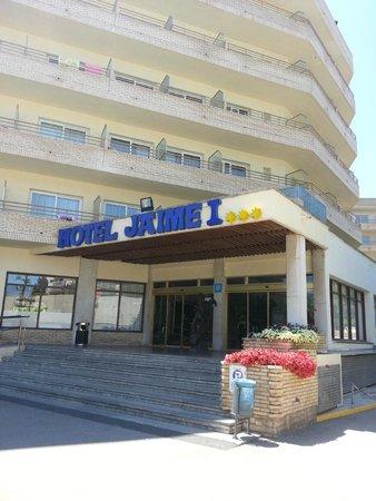 Jaime I Hotel : Вход в отель