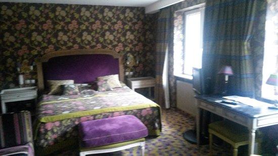 Ottrott, France : La chambre