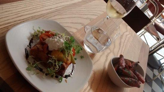 Bread Street Kitchen : tomato tart