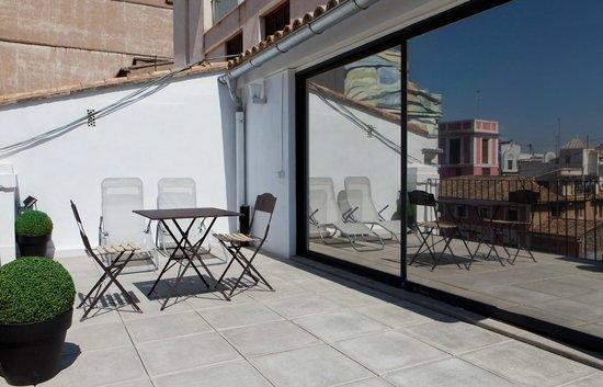 Cosy Rooms Bolsería: Terrace