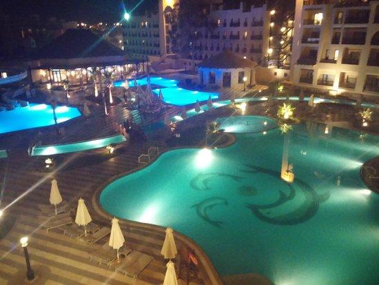 Steigenberger Aqua Magic : Pool At Night