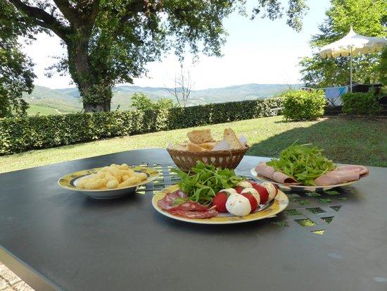 Il Paggino: Tuscan lunch at Villa Viola