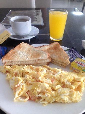 Hotel Terranova: desayuno incluido