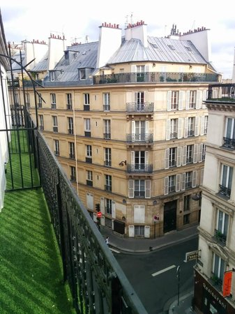 Hotel Josephine by HappyCulture: View from the balcony