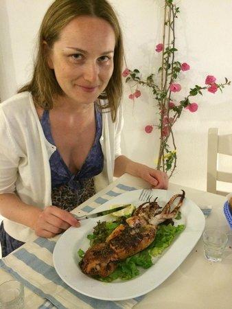 Merovigliosso Apartments: Ресторан за углом (Авокадо)