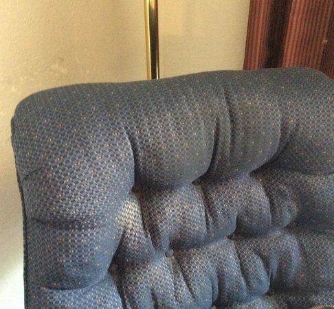 Quality Inn: chair stains