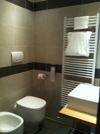 Hotel Paris: Bathroom - very clean and modern