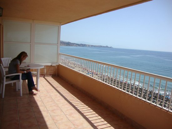 Apartamentos La Jabega: balkon