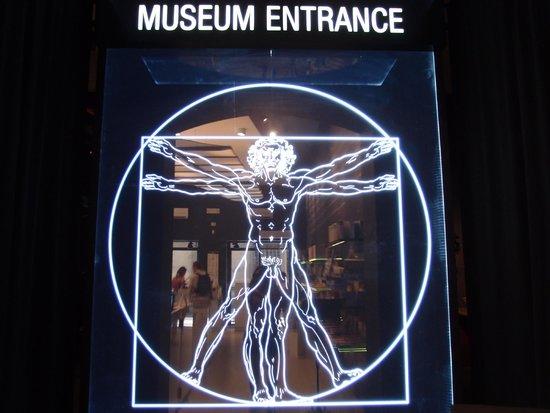 Leonardo Da Vinci Machines: the entrance