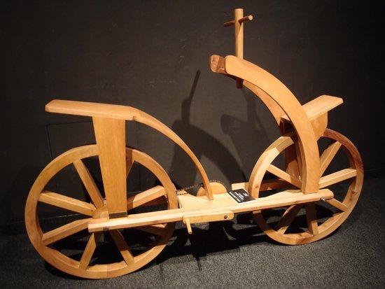 Leonardo Da Vinci Machines: one of the exhibition