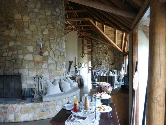 Kwandwe Great Fish River Lodge: Hall