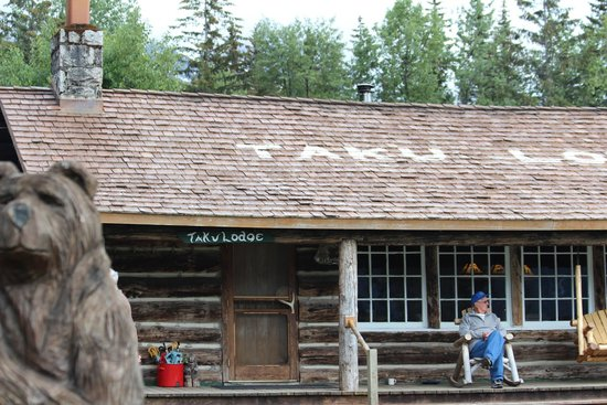 Taku Glacier Lodge & Wings Airways: the lodge
