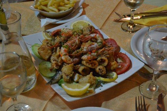 La Mer Restaurant: Frittura