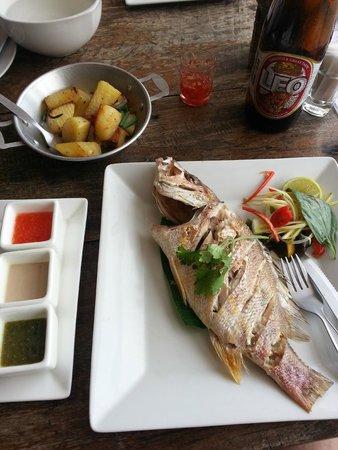Fisherman's Restaurant & Bar: sehr geschmackvoller Fisch