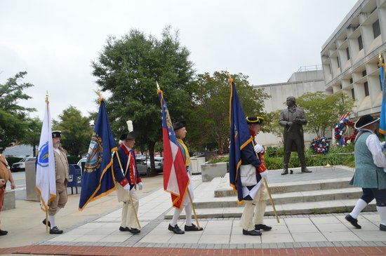 Falls Park on the Reedy : ceremony for General Green=Greenville
