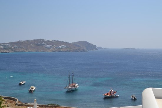 Apollonia Hotel & Resort: View from pool