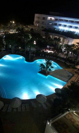 Hotel Laico Hammamet : Vue  de la terrasse