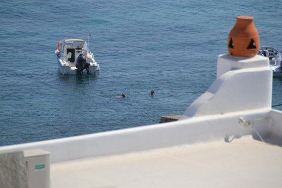 Apollonia Hotel & Resort: Balcony view