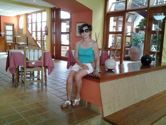La Casita Hotel: sala lettura