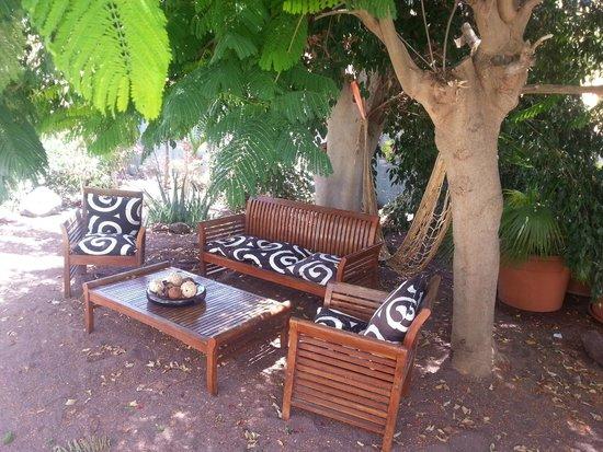 Vista Bonita Gay Resort: Area relax/lettura