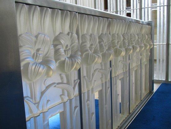 St Matthew's Church - Glass Church: Lalique