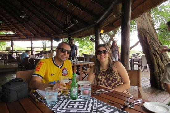 Mubanga Lodge: Restaurante
