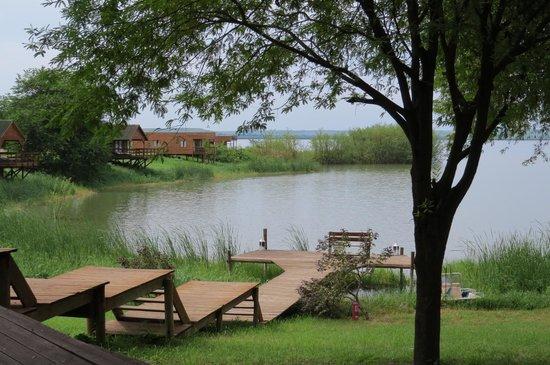 Mubanga Lodge: Vista do restaurante