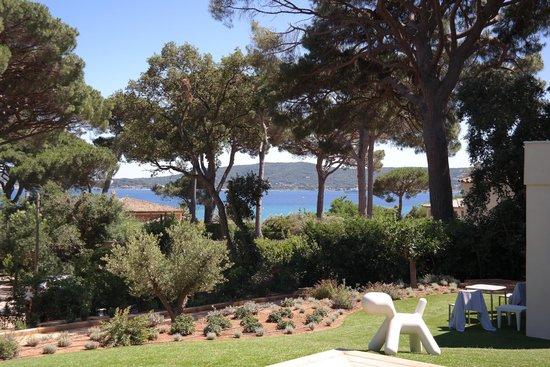 Villa Californie : Vue mer