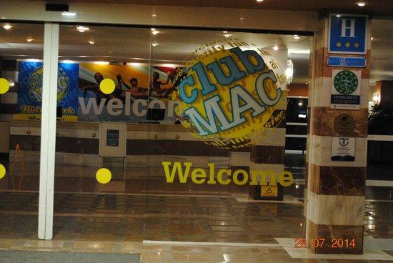 Club MAC Alcudia: Reseption
