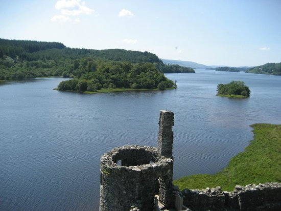 Kilchurn Castle : Beautiful views are yours!